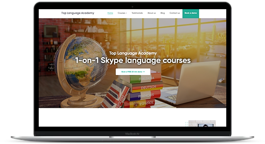 top language academy website
